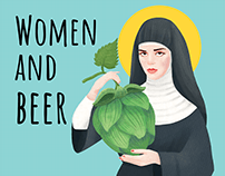 BEER CAN. HISTORY OF WOMEN AND BEER