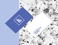 Horizontal Business Card Mockup