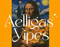 Yipes - Modern Retro Typeface