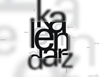 Projekt kalendarza 2003-2005