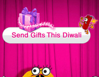 Facebook Application for Pepsodent on Diwali