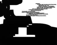 Typograficzna interpretacja wiersza 2003