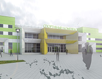 Fitness Center. Belgorod, Russia.