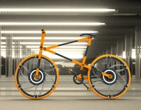 ECO 07 - Compactable Urban Bicycle