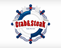 Crab&steak