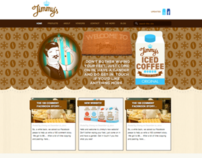 Jimmy's Iced Coffee Website