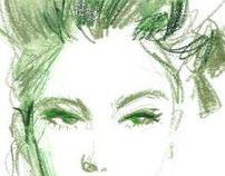 Fashion Illustration      #6_Color Sketch