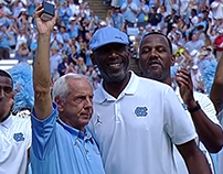 North Carolina receives national championship rings