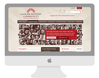 Cancer Support Community web design