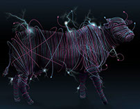 Vaca Elétrica - Eletric Cow