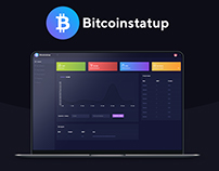 Bitcoinstartup - Разработка макета и верстка. #psd#html