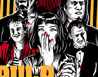 Pulp fiction fan art