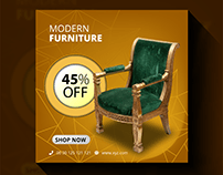 Social Media Ad Design for Furniture Company