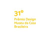 Concurso do Cartaz - 31º Prêmio Design MCB