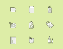 Grocery List Icons for Advanced Search