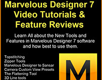 Marvelous Designer 7 Review of New Features & Tutorials