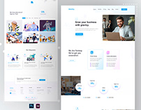FREE - Agency Landing Page