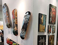 Skateboard Art by Ken Berman