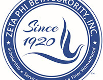 Logo Design (Zeta Phi Beta)