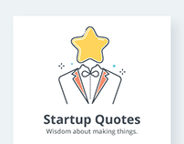 Startup Quotes Illustrations