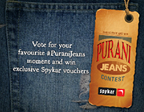 Landing page - Contest for Spykar Jeans