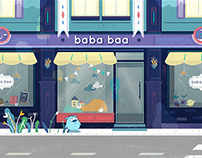 Please meet baba baa! animation