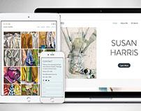 Fine Art Portfolio Website