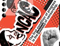 National Coalition Against Censorship Branding