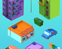 Enviroment low poly