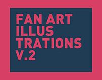 FAN ART Personal illustrations 2