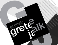 GJ Chair Poster