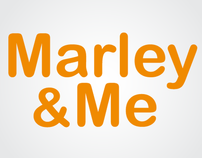 Logo for the movie Marley & me
