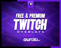 Free & Premium Twitch Overlays | Stream Design Packages