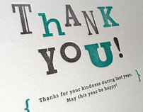 Message Card #03 – THANK YOU!