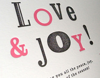 Message Card #02 – LOVE & JOY!