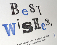 Message Card #01 – Best wishes,