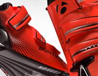Bontrager XXX road shoe web presence