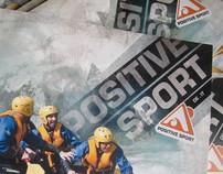 Positive sport / catalogue layout