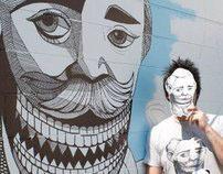 Andrew Spear Mural Video