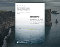 Brochure for Cronin Partners International Search