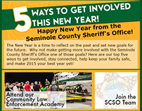 Sample Email Blast for Seminole county Sheriff's Office