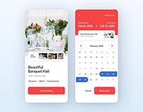 Booking App Design