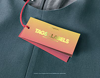 Garment Tag PSD Mock up