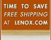 Lenox.com free shipping banner ad