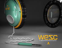 WESC headphones
