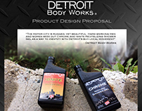 Detroit Body Works - Product Package Design