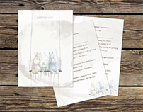 Moomin : Wedding Invitations