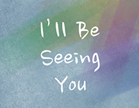 """""""I'll Be Seeing You"""" Single Album Cover for Lisa Gary"""