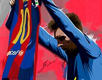 """Messi D10S / """"Y un gol que no olvidarás"""""""