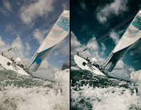 Sailing Pictures (Retouching)